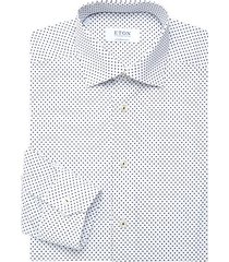 contemporary-fit neat print dress shirt