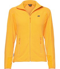 røda fleece jacket sweat-shirts & hoodies fleeces & midlayers gul skogstad