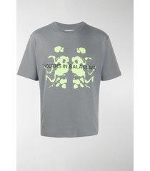 youths in balaclava photocromic short sleeve t-shirt