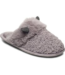 cat mule slippers tofflor grå hunkemöller