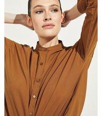 camisa marrón portsaid cindy