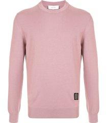 cerruti 1881 slim fit sweatshirt - pink