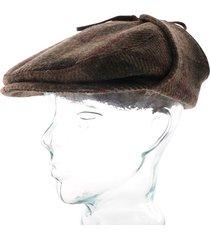 kent brushed glencheck ivy cap |brown| 6310301-275