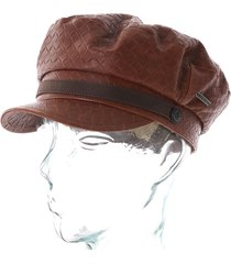 stetson hats riders leather cap |brown| 6297502-68