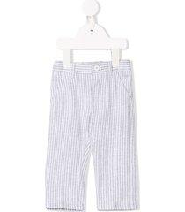 il gufo seersucker trousers - grey