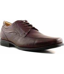 zapato marrón briganti anatomic hombre tivoli