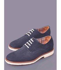 zapato de gamuza contraste 67228