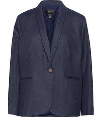 parke blazer in stretch linen blazers casual blazers blå j.crew
