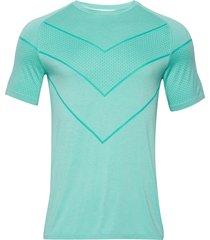 reactive evoknit tee t-shirts short-sleeved grön puma