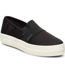 leisha slip-on shoes sneakers svart gant