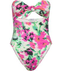 santorini blurred floral swimsuit baddräkt badkläder multi/mönstrad ivyrevel