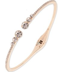 givenchy pave open cuff bracelet