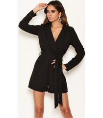 ax paris women's blazer romper
