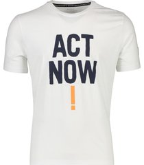 ecoalf t-shirt wit act now