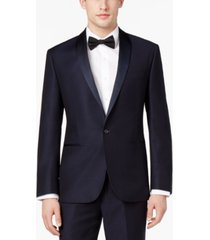 ryan seacrest distinction men's navy modern-fit tuxedo jacket, created for macy's
