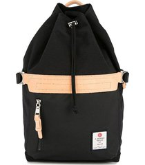 as2ov drawstring backpack - black