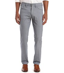 men's 34 heritage courage minicheck straight leg pants, size 31 x 34 - blue