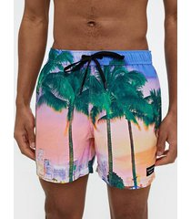 björn borg swim shorts sunset palm badkläder palm tree