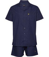 riley pyjamas blå lyle & scott