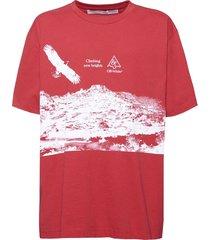 eagle landscape t-shirt