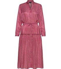 3367 - rayne jurk knielengte roze sand