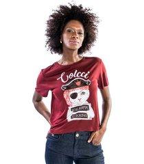 t-shirt gato pirata colcci