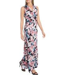 women's vince camuto romantic lilies floral maxi dress