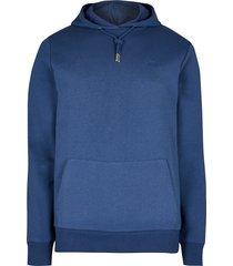 river island mens blue ri slim fit hoodie