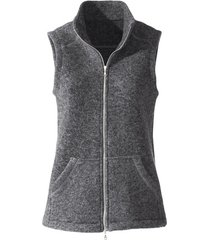 walkstof gilet, leisteen 36