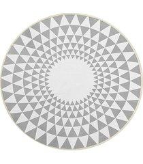 100cm gris triángulo ronda de alfombras alfombras salón área suelo yoga mat - 120cm