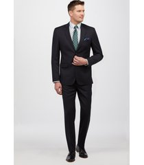 jos. a. bank men's traveler collection tailored fit suit clearance, navy, 46 short