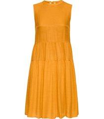 abito oversize con fiocco (arancione) - bodyflirt