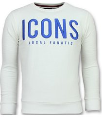 sweater local fanatic icons leuke w