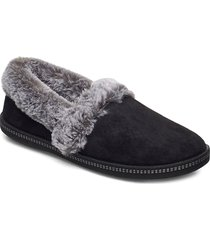 womens cozy campfire - team toasty slippers tofflor svart skechers