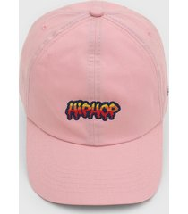 boné kanui dad cap hip hop grafiti rosa