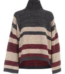 antonio marras oversized striped sweater