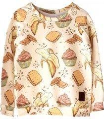 bluza bananas and cupcakes