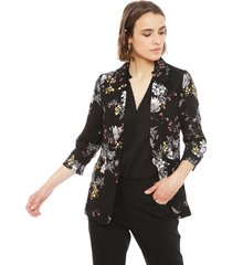 blazer ash negro - calce regular
