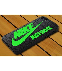 nike mint green just do it iphone 4 5c 5s se 6 6+ 7 7+ samsung htc lg ipod case