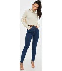 nudie jeans hightop tilde light navy skinny