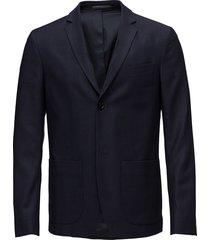 m. daniel knit jacket blazer colbert blauw filippa k