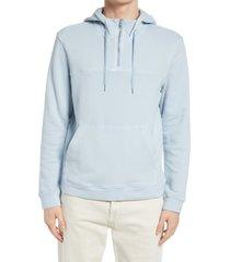 men's club monaco men's tea shop hoodie, size xx-large - blue