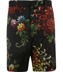 dsquared2 floral print concealed shorts