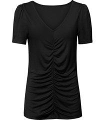 maglia con arricciatura (nero) - bodyflirt