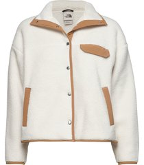 w cragmont flc jkt sweat-shirt trui crème the north face