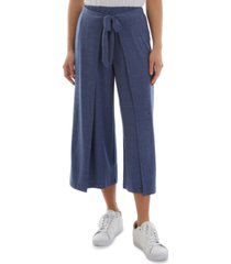 bcx juniors' pull-on cropped wrap pants