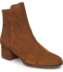 booties 95500 shoes boots ankle boots ankle boots with heel brun carla f
