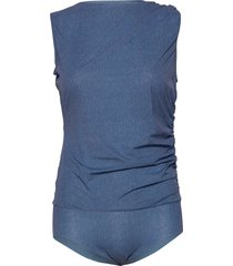 taylor body t-shirts & tops bodies blå wolford