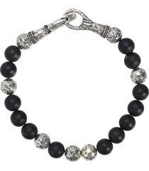 women's john varvatos distressed beaded bracelet