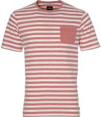 jac hensen t-shirt - modern fit - rood